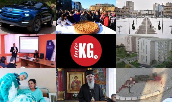 InfoKG 7 dana: Gradske uprave, Fiat, JKP Šumadija, česnica, jeftini stanovi, Rotarakt, političari...