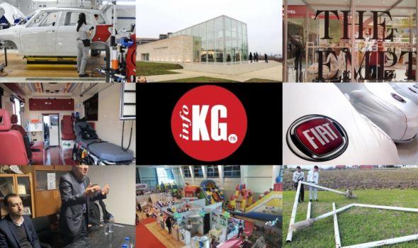 InfoKG  dana: Fiat, porođaj, FK Sloga, The Empty Shop, Verko, Kokin legat...