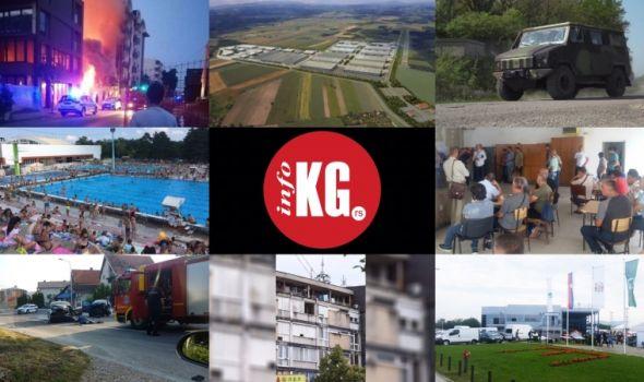 InfoKG 7 dana: Hamer, štrajk, pokušaj samoubistva, sajmovi, saobraćajke, bazeni, požar...