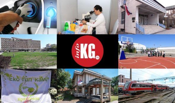 """InfoKG 7 dana: Elektromobil, pruga, Oktobarske svečanosti, košarkaški teren, """"Indeks"""", Sajam zdravlja..."""