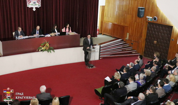 """Zaseda SG: Rebalans budžeta, novo Veće, izbor direktora JP """"Putevi"""" Kragujevac"""