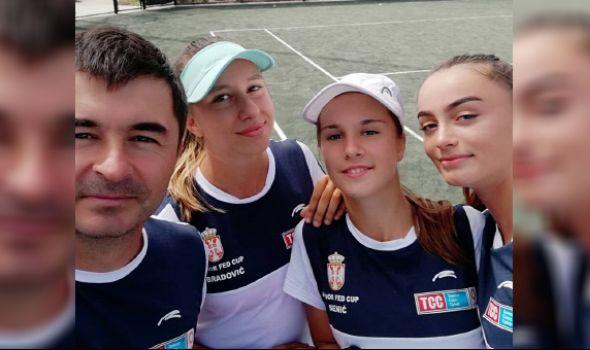 Senićeva sa reprezentacijom Srbije na Svetskom ekipnom prvenstvu na Floridi