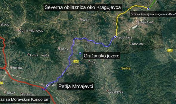 Izgradnjom Severna obilaznica i Gružanskog koridora Kragujevac postaje čvorište najbitnijih srpskih saobraćajnica