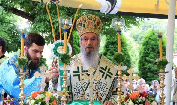 STARA CRKVA obeležila slavu, nakon večernjeg bogosluženja GRADSKA LITIJA (FOTO)