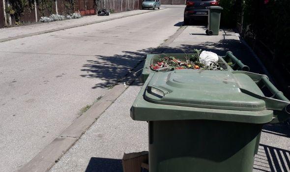 Pojedini građani smećare čekali DVA DANA, JKP Šumadija negira zastoj (FOTO)