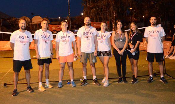 SOFA BADMINTON KRAGUJEVAC 2020: Studenti odmerili snage i prikupljali pomoć za Janka Tanasijevića (FOTO)