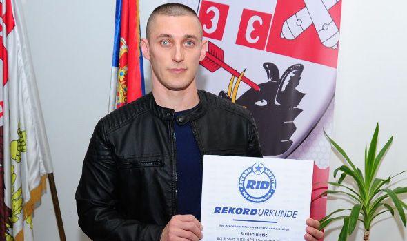 Kragujevački ginisovac Srđan Ristić rešen da prevaziđe samog sebe: Obara sopstveni rekord i sprema se za novi