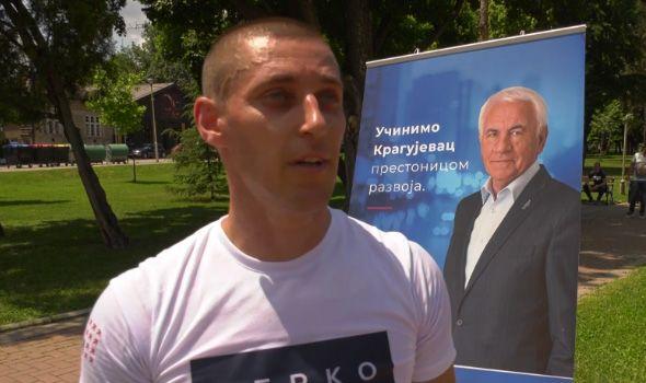 Kragujevački ginisovac podržao Verka i započeo pripreme za obaranje sopstvenog rekorda (VIDEO)