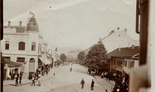 STARI KRAGUJEVAC - Prvi telegraf