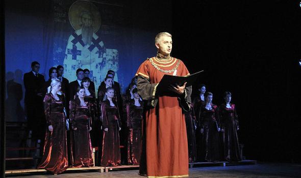 SVETOSAVSKA AKADEMIJA u Teatru, Prvoj gimnaziji velika DONACIJA Eparhije šumadijske