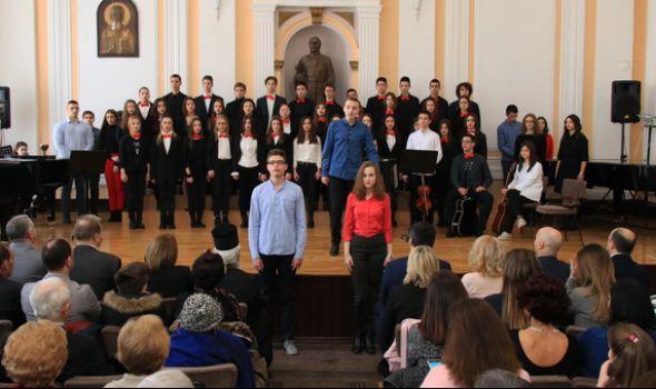 Svetosavska akademija u Prvoj gimnaziji: Najuspešnijim učenicima dodeljene nagrade