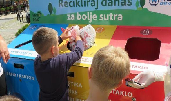 Obeležen Svetski dan zaštite životne sredine: Najmlađi sugrađani dali primer svima (FOTO)