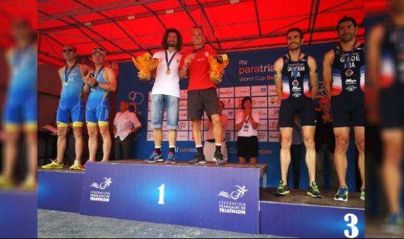 Trakić i Filipović osvojili zlato na Svetskom kupu u paratriatlonu u Francuskoj (FOTO)