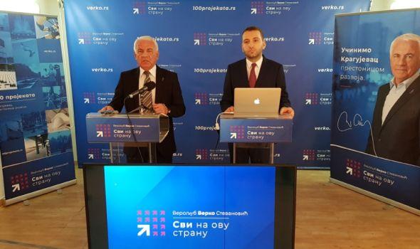 Svi na ovu stranu: Promovisano 100 projekata koji će Kragujevac učiniti prestonicom razvoja (FOTO/VIDEO)