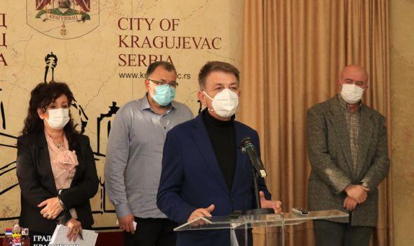 Moguće pooštravanje protivepidemijskih mera, širi spektar kazni u Kragujevcu