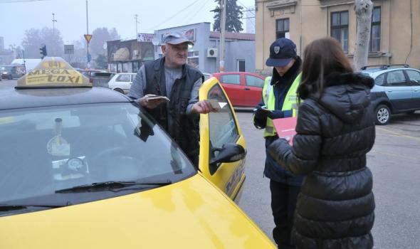 Taksisti isključivani iz saobraćaja, razdeljeni prekršajni nalozi i krivične prijave