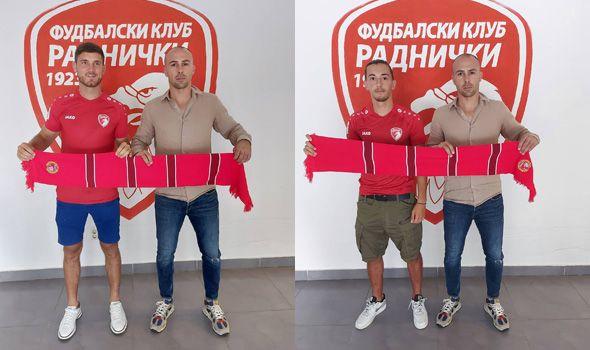 """Tandem mladih crnogorskih fudbalera na """"Čika Dači"""""""