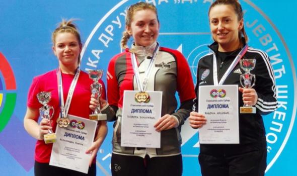 Teodora Vukojević odbranila titulu seniorskog prvaka Srbije, trijumf i u miksu sa Milutinom Stefanovićem