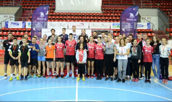 Luka Milić po peti put trijumfovao na Trofeju Kragujevca u badmintonu
