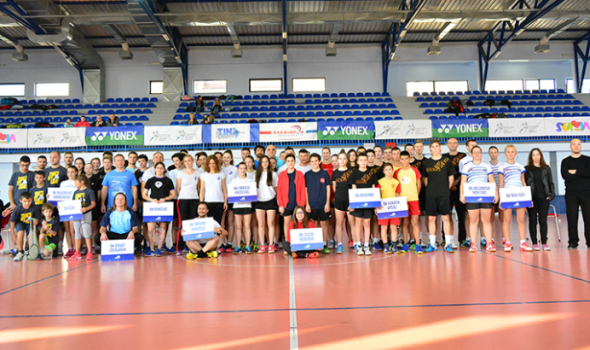 Kruševljani overili Trofej Kragujevca u badmintonu