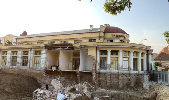 "Reagovala Mreža za nasleđe jugoistočne Evrope zbog urušavanja dela zgrade ""Gradske tržnice"""