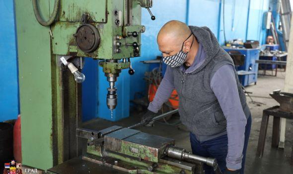 Podrška Grada preduzeću Šumadija u proširenju proizvodnog pogona
