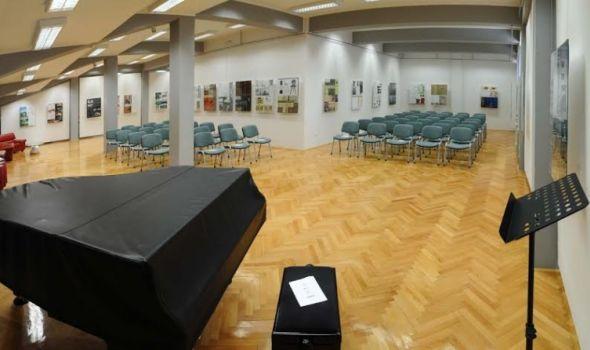 Ivana Grahovac i Olivier Maurel u Univerzitetskoj galeriji