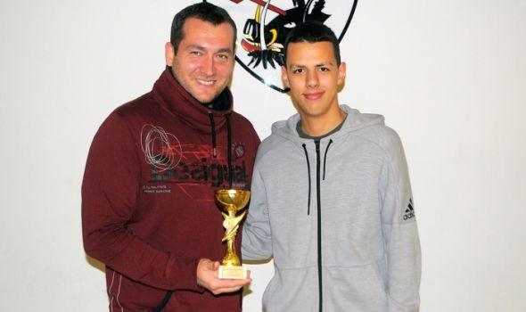 Uroš Stevanović najbolji trener grada Kragujevca u 2020.