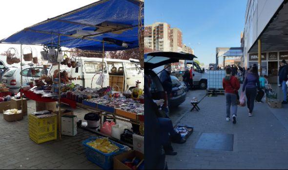 Pripreme za Vaskrs u doba Korone: Nema šarenila, dekoracija, živosti... Izbor spao na markete (FOTO)