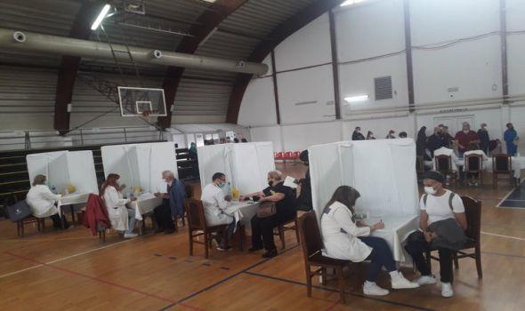 U Kragujevcu vakcinisani sindikalci iz Bosne i Hercegovine