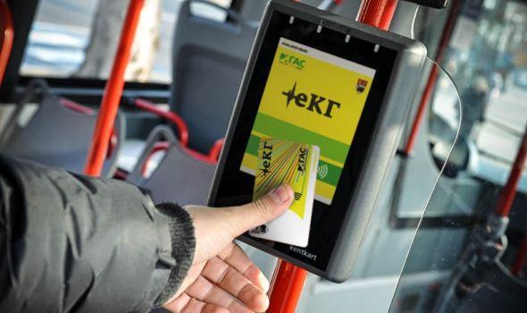 Dopuna eKG kartice za gradski prevoz od sada i preko interneta