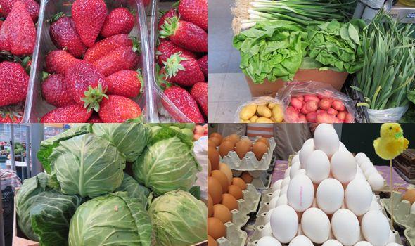 Stigli rezultati analiza voća, povrća i jaja sa kragujevačkih pijaca