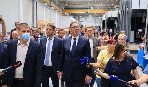 Evo šta je Vučić najavio od kapitalnih investicija za Kragujevac