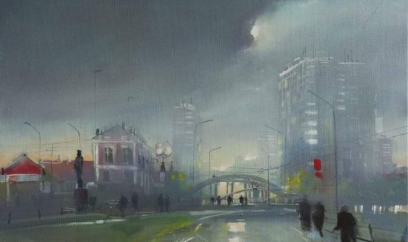 Izložba slika Miloša Sarića u Galeriji Art