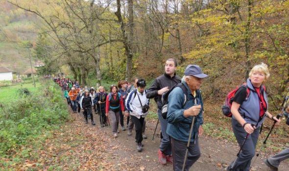 """Dan Planinarskog društva """"Žeželj"""", šetnja Gledićkim planinama"""