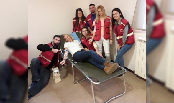 """Velika zimska akcija dobrovoljnog davanja krvi danas u hotelu """"Kragujevac"""""""