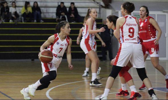 Košarkašice Radničkog poražene od Crvene zvezde