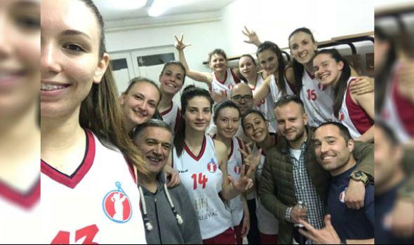 Košarkašice Radničkog plasirale se u Prvu ligu Srbije