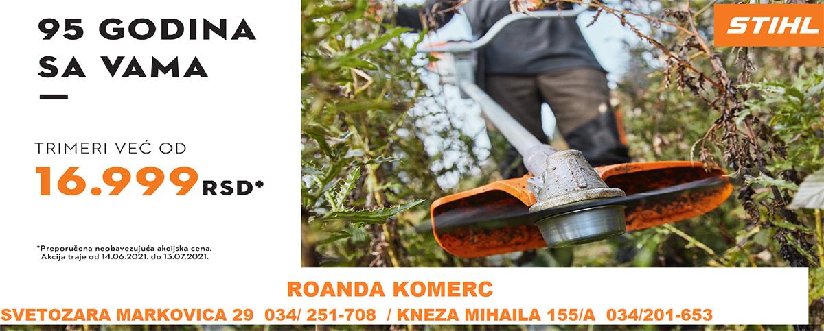 Roanda Komerc (jun 2021)