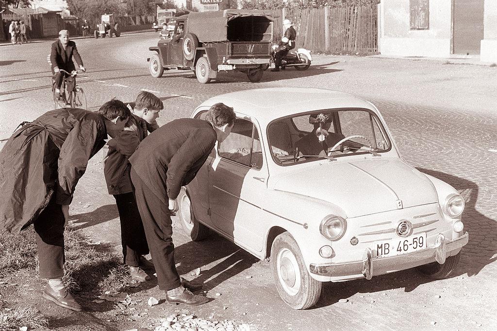 Avtoštoparji v Mariboru 1961 3