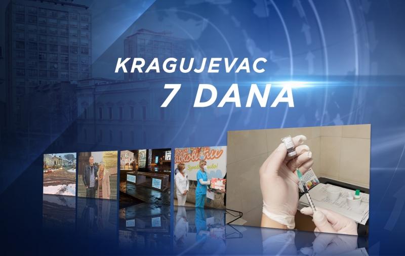 InfoKG 7 dana: Sneg, dečak prvorođena beba u srpskoj Novoj godini, počela vakcinacija prijavljenih preko eUprave...