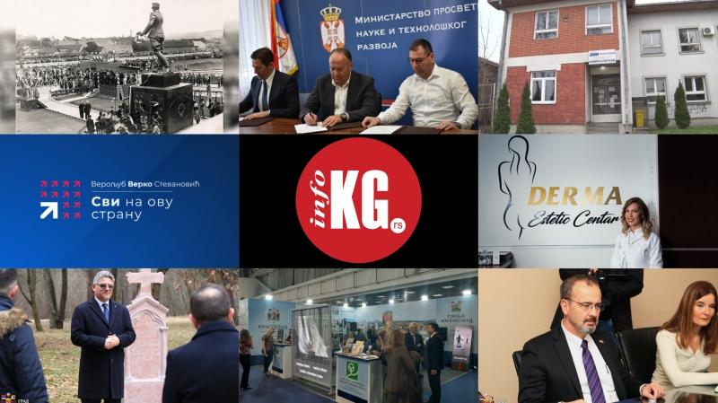 """InfoKG 7 dana: Misterija, atletika, ambulanta """"Filip Kljajić"""", """"Svi na ovu stranu"""", DERMA Estetic Centar, ambasadori..."""