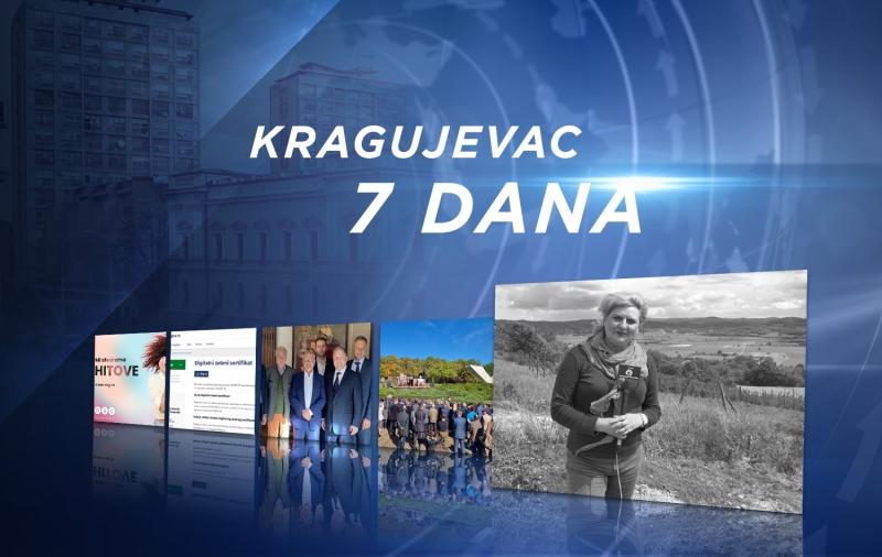 InfoKG 7 dana: 15 godina RSG-a, kovid propusnice, Urošević u Briselu, Veliki školski čas, umrla Katarina Mirović...
