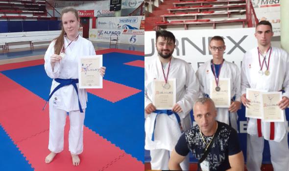 Karatistima Juniora pet medalja u Čačku