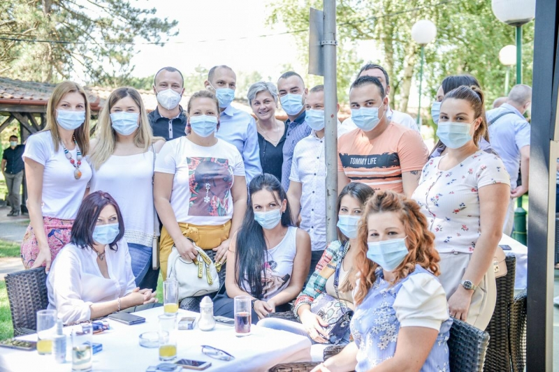 Lončar u Kragujevcu: Borba sa virusom i dalje traje, zdravstveni radnici su naši junaci