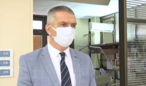 Sazdanović apeluje: Uzmite se u pamet! Zbog rasta broj zaraženih Interna klinika ušla u COVID sistem, u KC hospitalizovano 180 pacijenata