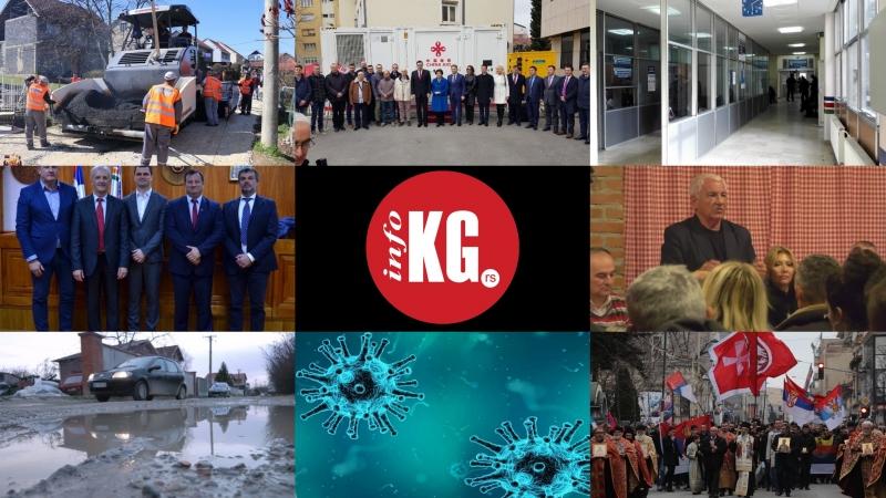 InfoKG 7 dana: Izborne liste, litija, Verko, Data centar, automobilsko inženjerstvo, Korona, predizborni asfalt