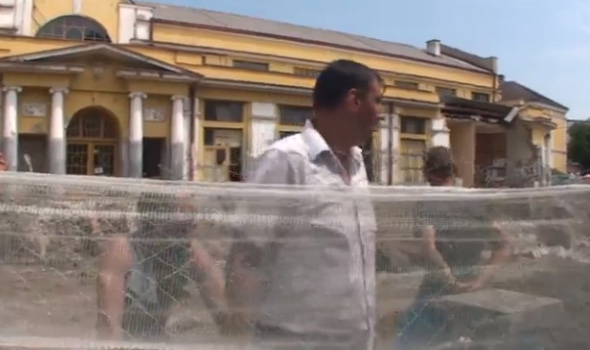 Novinar N1 Milan Nikić: Pretnje prilikom snimanja dela urušavanja Gradske tržnice shvatam ozbiljno, očekujem rekaciju nadležnih